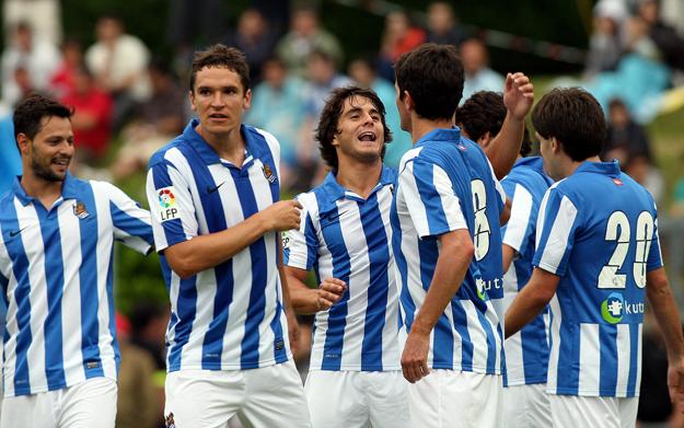 La Real Sociedad presenta el partido frente al Girondins