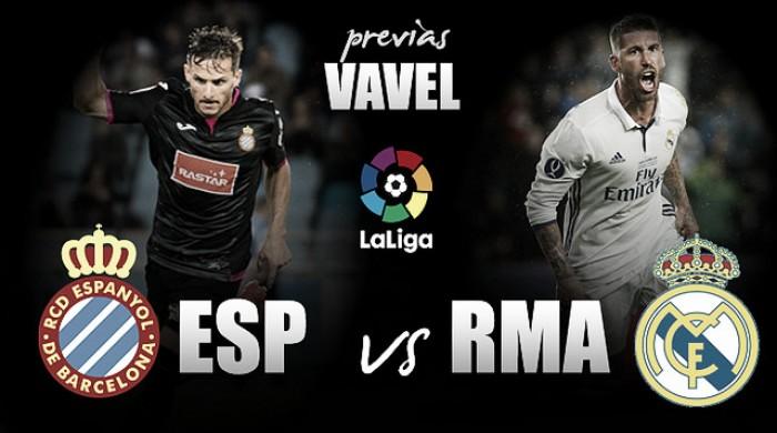 Embalado após vitória na UCL, Real Madrid visita o Espanyol visando invencibilidade na Liga