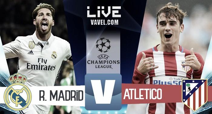Real Madrid - Atletico Madrid in andata semifinale Champions League 2016/17 (3-0): Il Real prenota la finale!