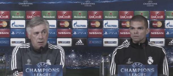 Juve - Real, le parole di Ancelotti e Pepe in conferenza stampa