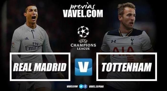 Previa Real Madrid - Tottenham Hotspur: duelo por el primer puesto