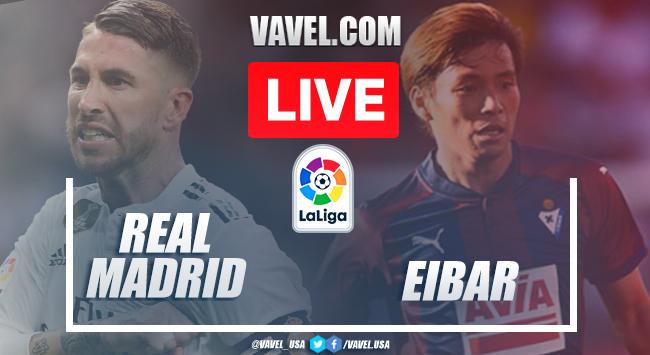 Goals and Highlights: Real Madrid 3-1 Eibar in 2020 La Liga
