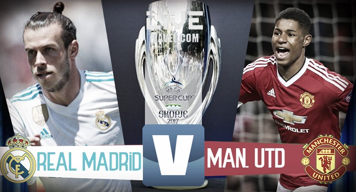 Real Madrid - Manchester United, Supercoppa Europea 2017 (2-1): Casemiro, Isco, poi Lukaku