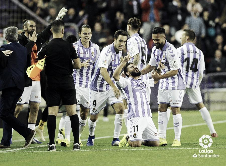 El Real Valladolid lo buscó y lo encontró