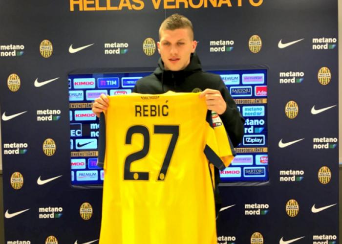 """Verona, Rebic: """"Sono qua per dare una mano, voglio migliorarmi"""""""