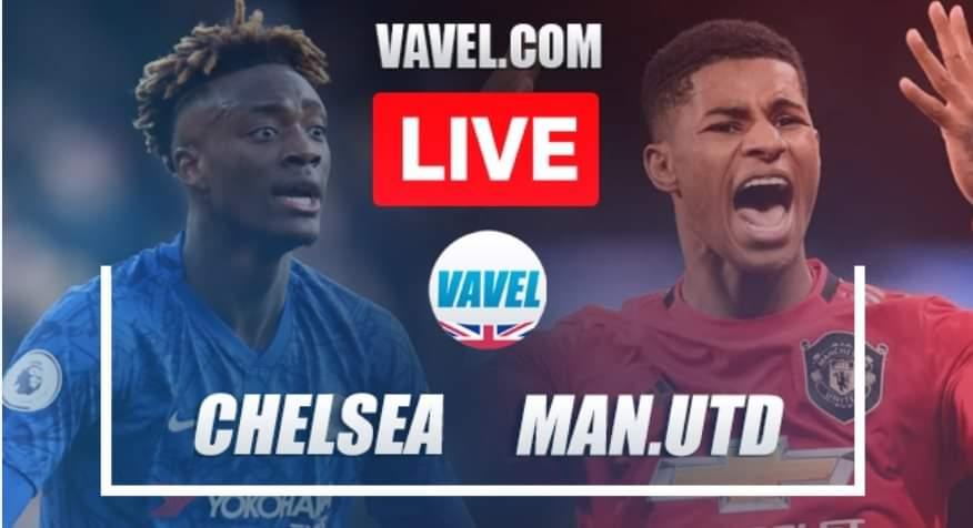 Manchester United vs Chelsea EN VIVO y en directo en La Premier League 2020