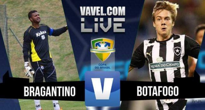 Resultado Bragantino x Botafogo pela Copa do Brasil (2-2)