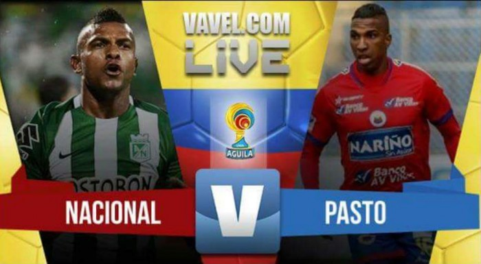 Resumen Atlético Nacional 3-1 Deportivo Pasto por la Liga Águila 2016-2