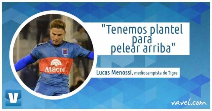 "Menossi: ""Tenemos plantel para pelear arriba"""