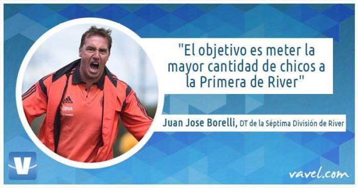 """Entrevista Juan José Borelli: """"El objetivo es meter la mayor cantidad de chicos a la Primera"""""""