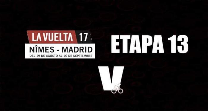 Vuelta a España: etapa 13 para Matteo Trentin que sigue agrandándose