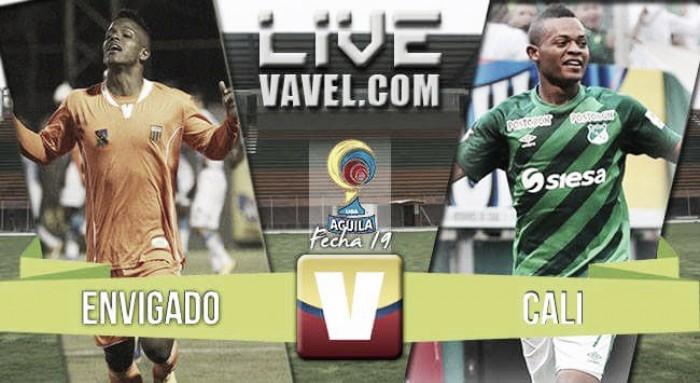 Resumen Envigado 0-0 Cali en la Liga Águila 2016-I