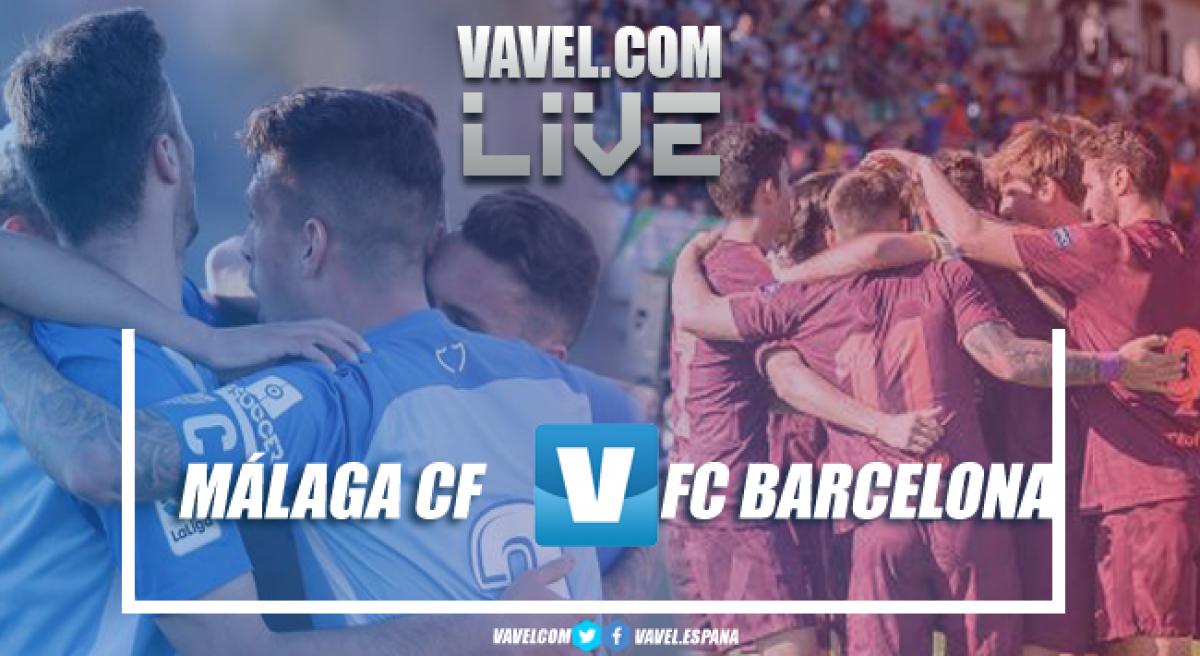 Resumen Málaga 0-4 FC Barcelona en los cuartos de final de la Copa de Campeones 2018