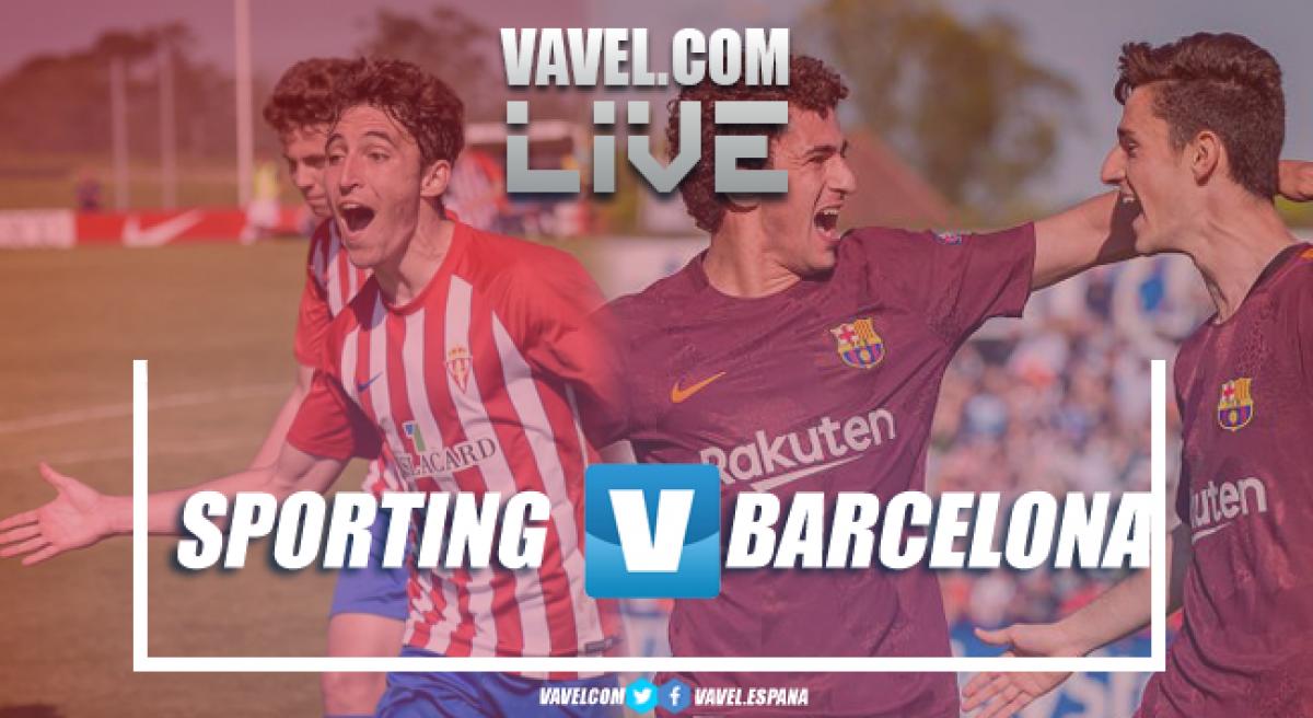 Resumen Sporting 2-1 FC Barcelona en las semifinales de la Copa de Campeones 2018