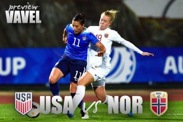 Press gives US women 1-0 victory in Norway