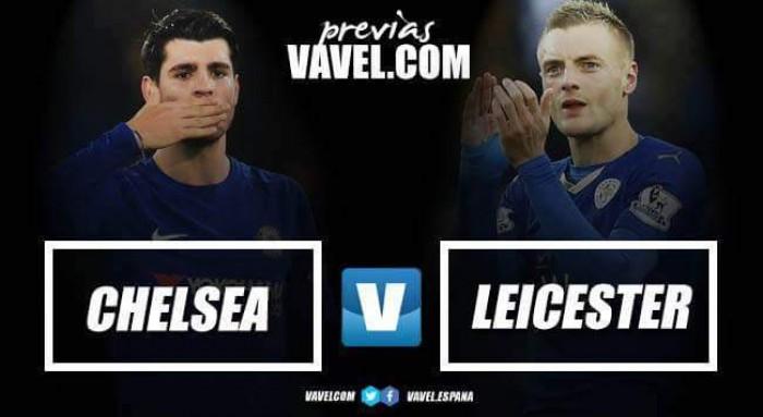 Previa Chelsea - Leicester: punto a punto