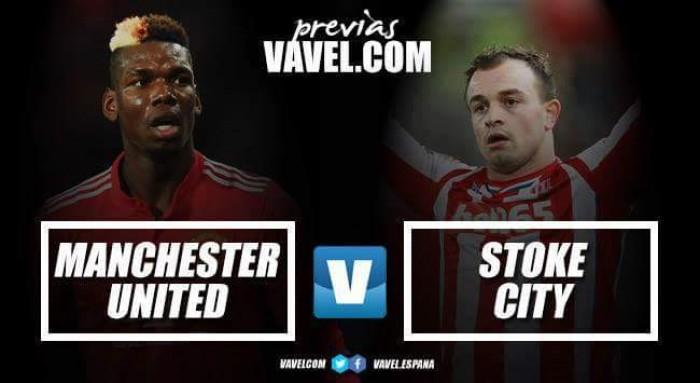Previa Manchester United - Stoke City: aprovechar la caída