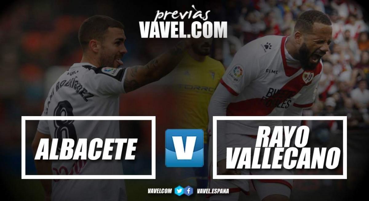 Previa Albacete Balompié - Rayo Vallecano: un partido decisivo