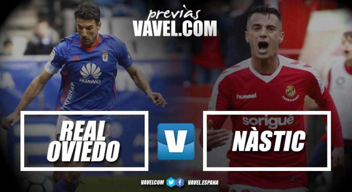 Previa Real Oviedo - Gimnàstic de Tarragona: los azules buscan engancharse definitivamente al objetivo