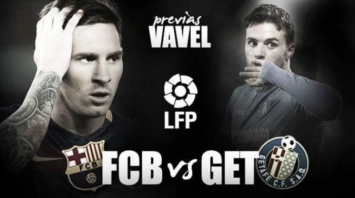 Previa Getafe CF - FC Barcelona: derribar al invicto