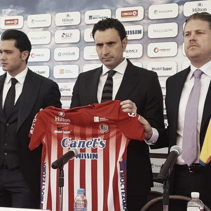 Molina, presentado oficialmente como técnico del Atlético de San Luis