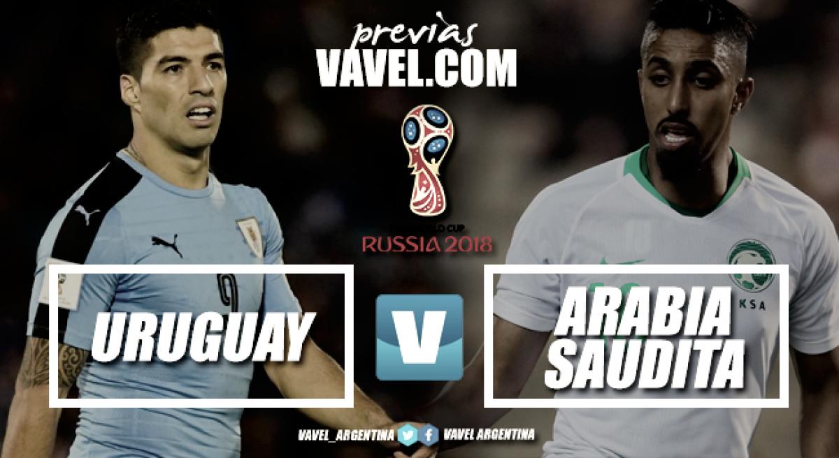 Previa Uruguay - Arabia Saudita: cara y contracara en duelo desparejo