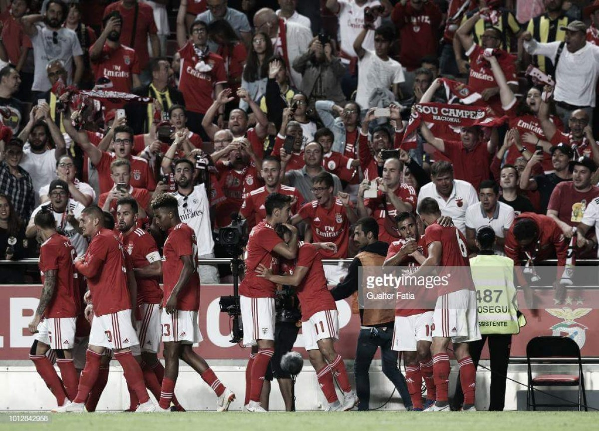 Benfica vence Fenerbahçe na Luz