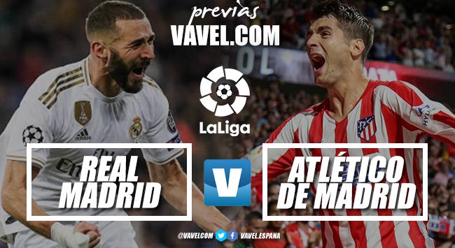Previa Real Madrid - Atlético de Madrid: agarrarse al último clavo ardiendo