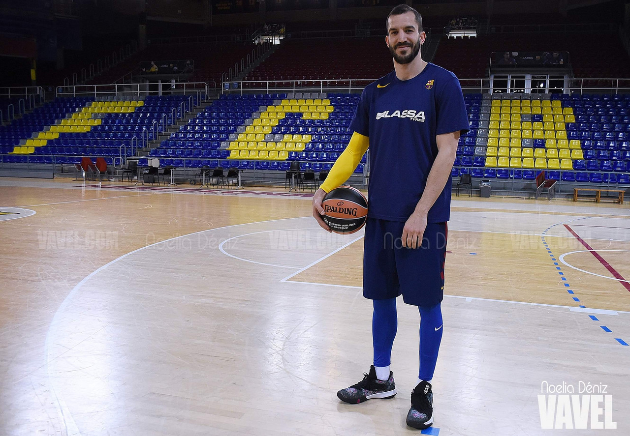 """Entrevista a Pau Ribas: """"Ahora es mi mejor momento desde que estoy en el Barcelona"""""""