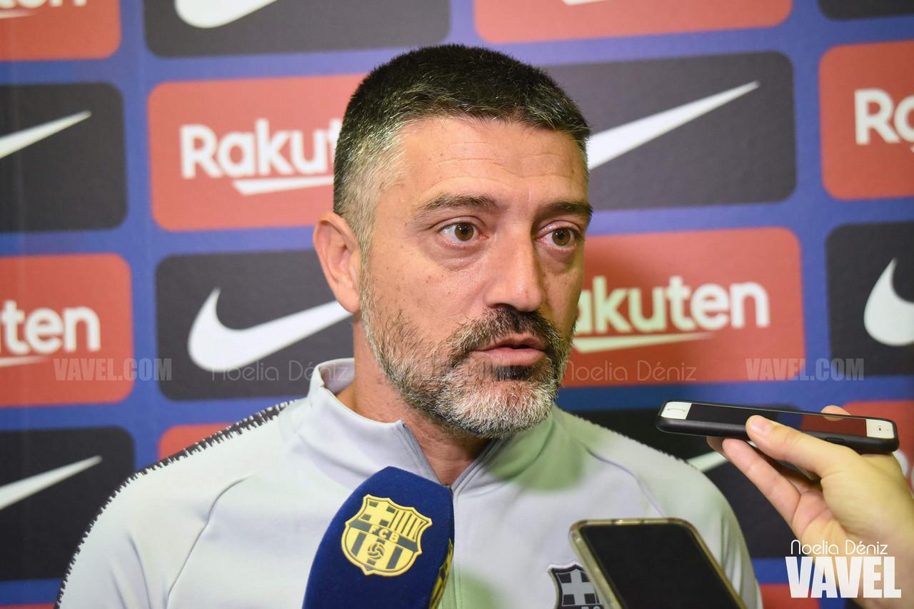 """García Pimienta: """"Será un partido distinto"""""""