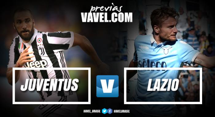 Juventus e Lazio duelam por primeiro troféu da temporada 2017/18: a Supercopa Italiana