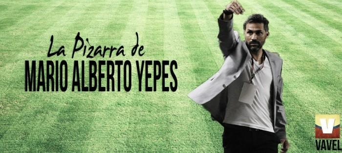 La pizarra de Mario Alberto Yepes