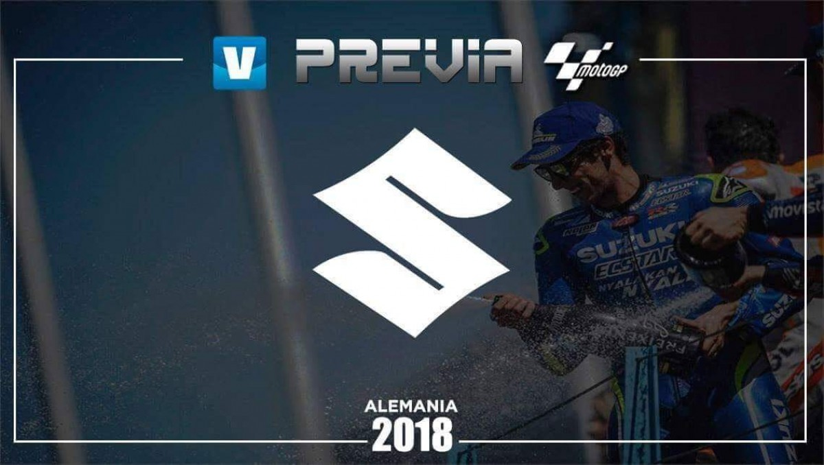 Previa Suzuki Ecstar GP de Alemania: en el camino correcto