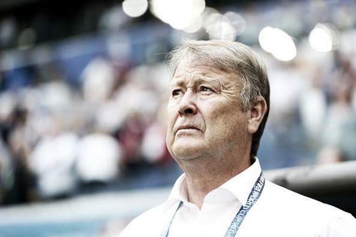 """Age Hareide avalia defeitos da Dinamarca em empate: """"Muitas escolhas erradas"""""""