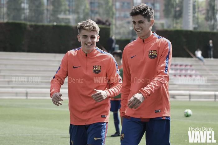 Los juveniles del Barcelona inician la pretemporada con nuevos brios