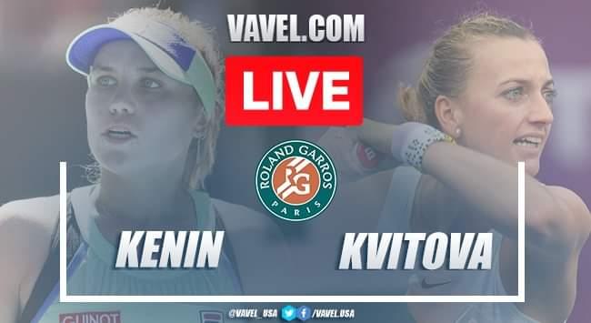 French Open: Sofia Kenin vs Petra Kvitova: Live Score and Stream updates