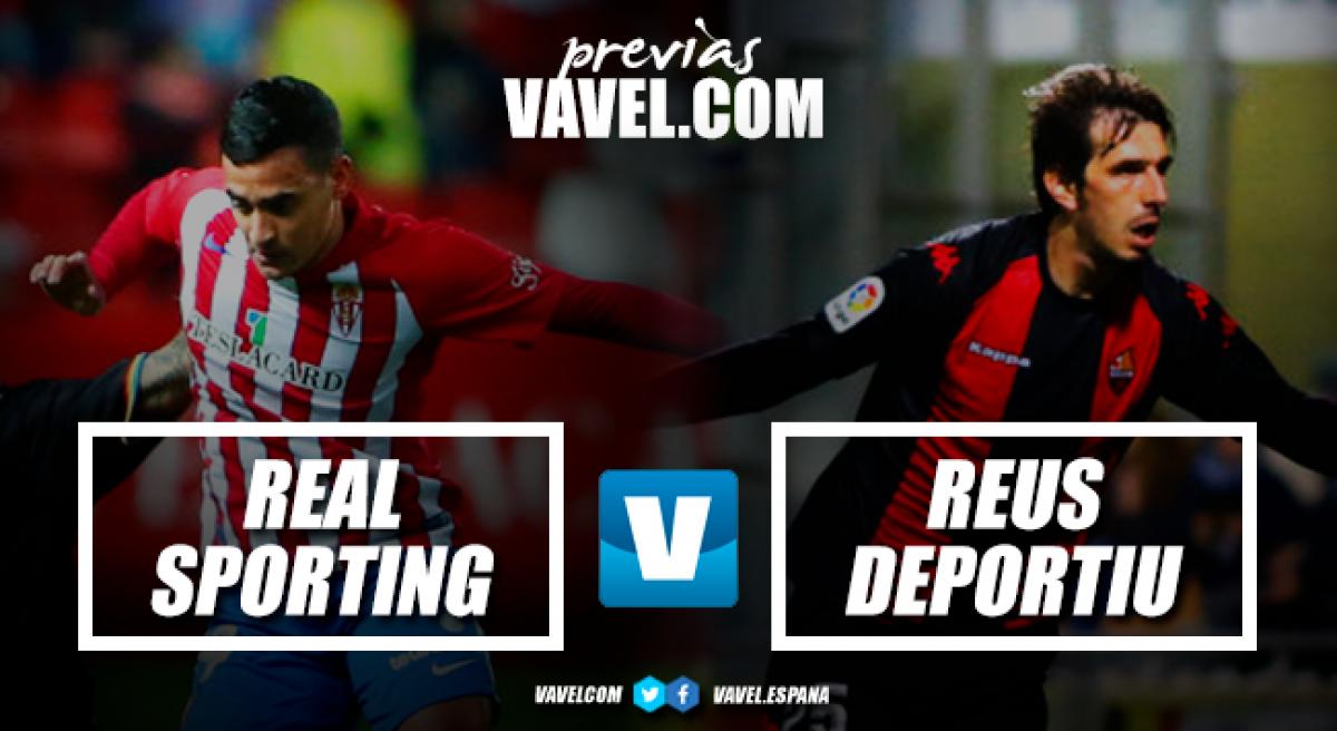 Previa Real Sporting - CF Reus: duelo de dinámicas