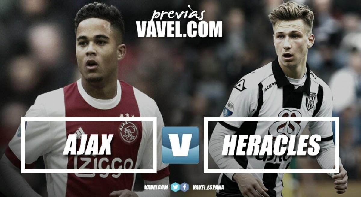 Previa Ajax - Heracles: puntos definitivos