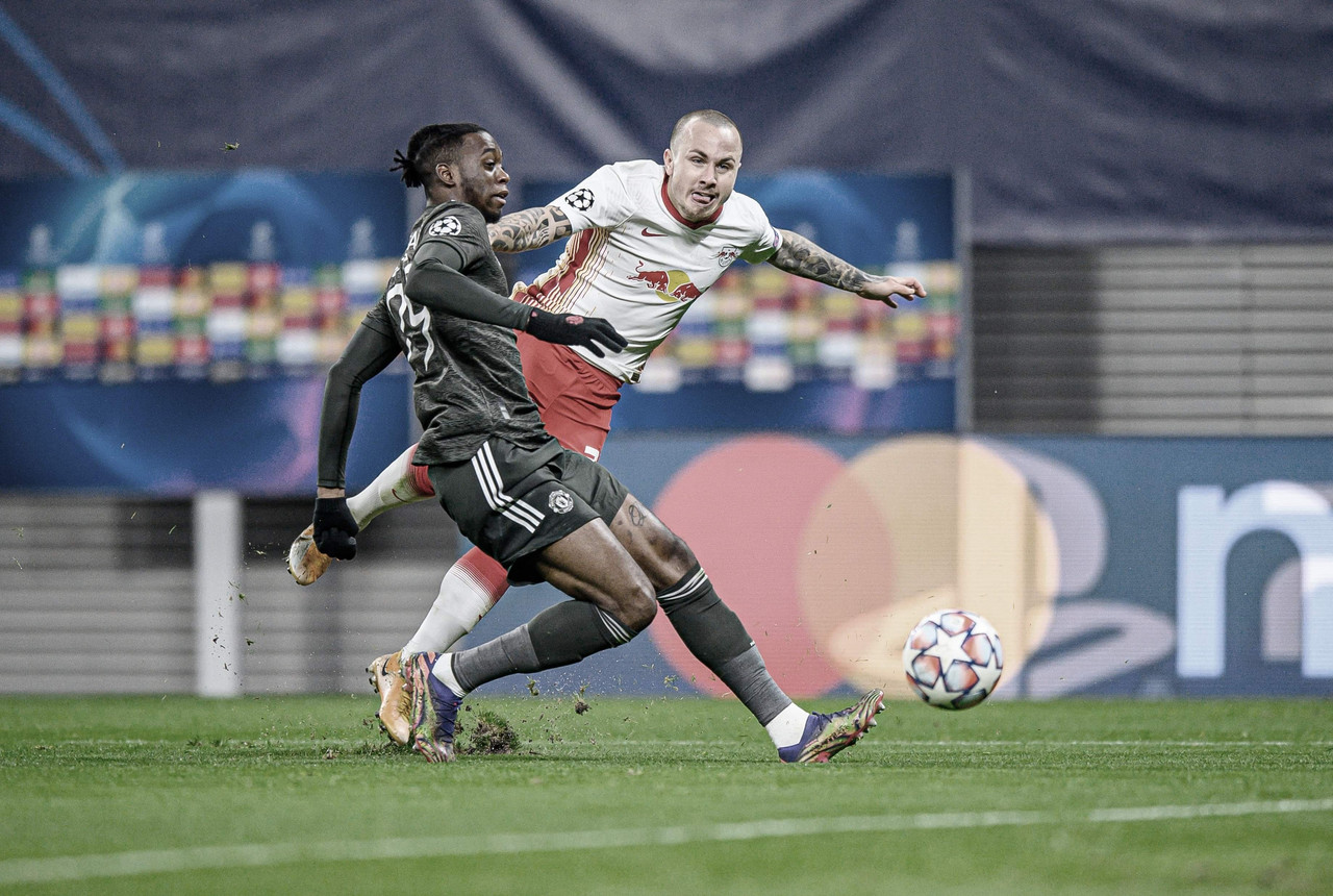 Sufrida victoria del RB Leipzig sobre el Manchester United