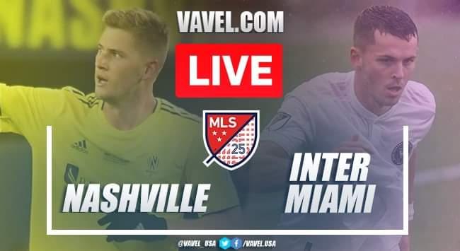 Nashville SC vs Inter Miami (3-0): Live Stream and Updates