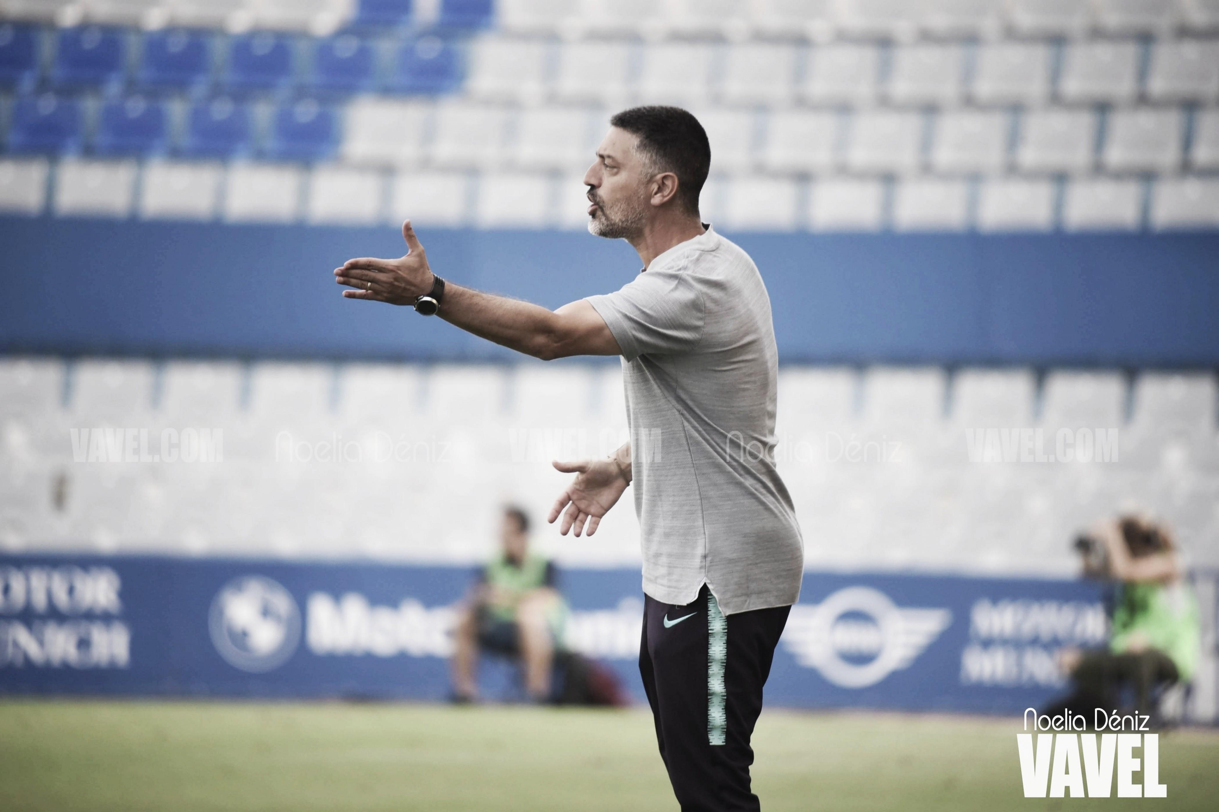 """García Pimienta: """"Espero que esta victoria sea un punto de inflexión"""""""
