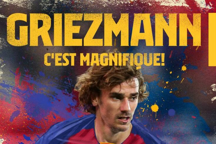 Oficial: Griezmann já é jogador do FC Barcelona