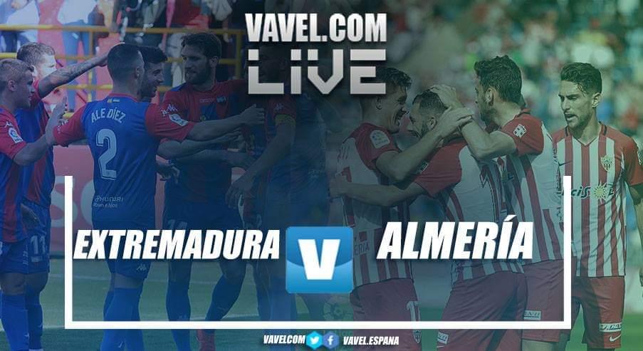 Resumen del Extremadura UD 1-0 UD Almería en LaLiga 1|2|3 2019