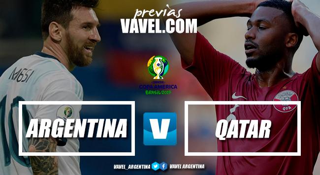 Argentina vs Qatar: a ganar o a casa