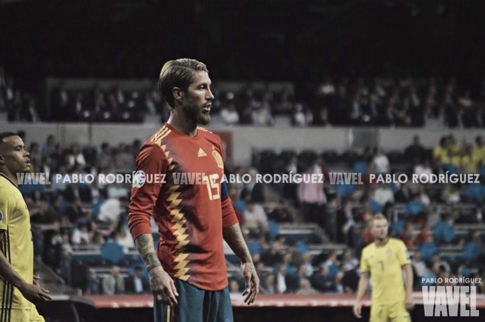 """Sergio Ramos: """"Es un pasito que nos acerca a la Eurocopa"""""""