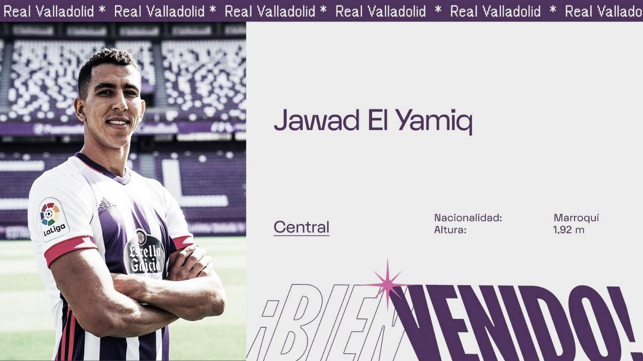 Jawad El Yamiq, nuevo jugador del Real Valladolid