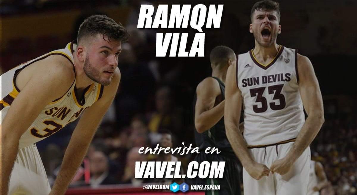 """Entrevista. Ramón Vilà: """"Mi sueño siempre ha sido tener minutos en la ACB"""""""