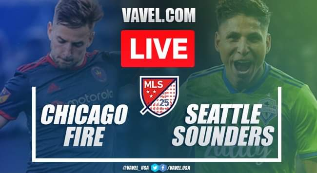 As it happened: Chicago Fire 2-1 Seattle Sounders - MLS Is Back (2020)