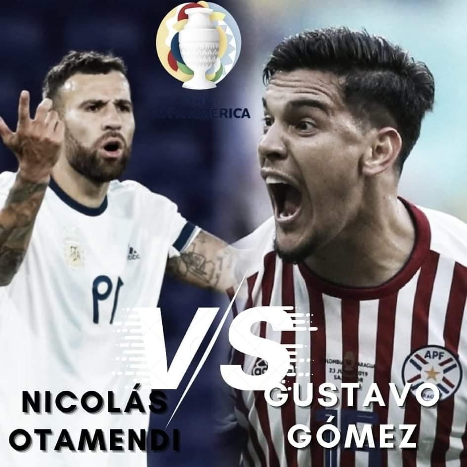 Nicolás Otamendi vs Gustavo Gómez: Referentes del fondo.