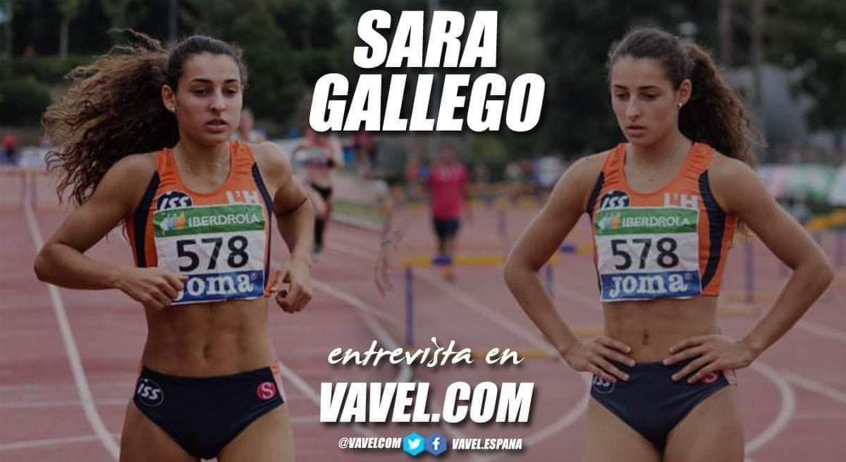 """Entrevista. Sara Gallego: """"Nos vamos a focalizar más en campeonatos como el Europeo Sub23"""""""